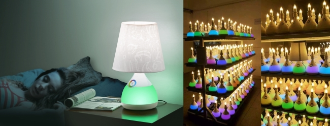 A nice home decoration LED table lamp are ready for mass production!