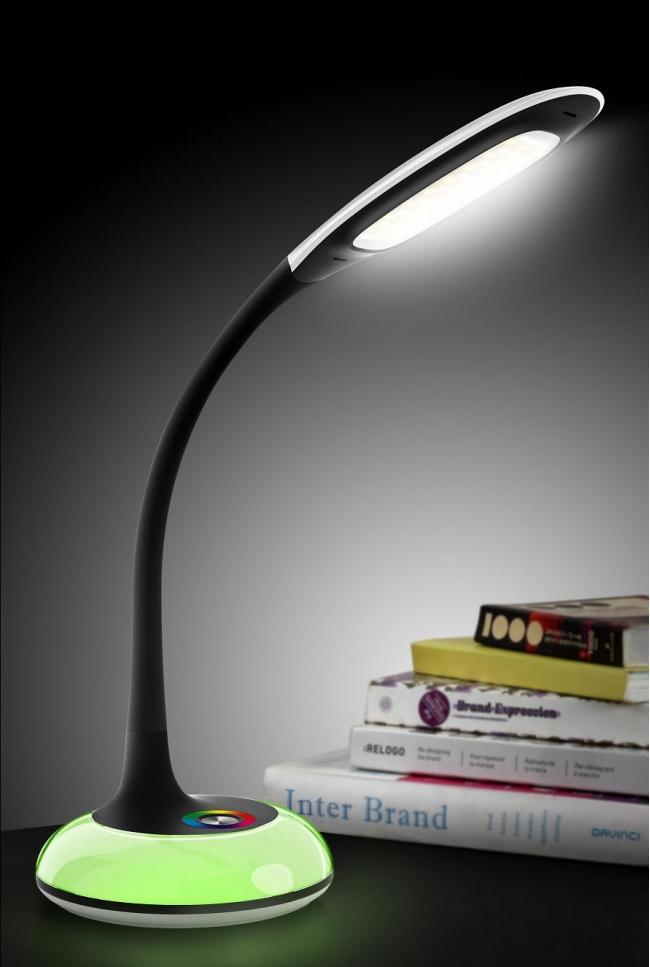 Flexible LED Desk Lamp Touch Sensor Adjustable Brightness