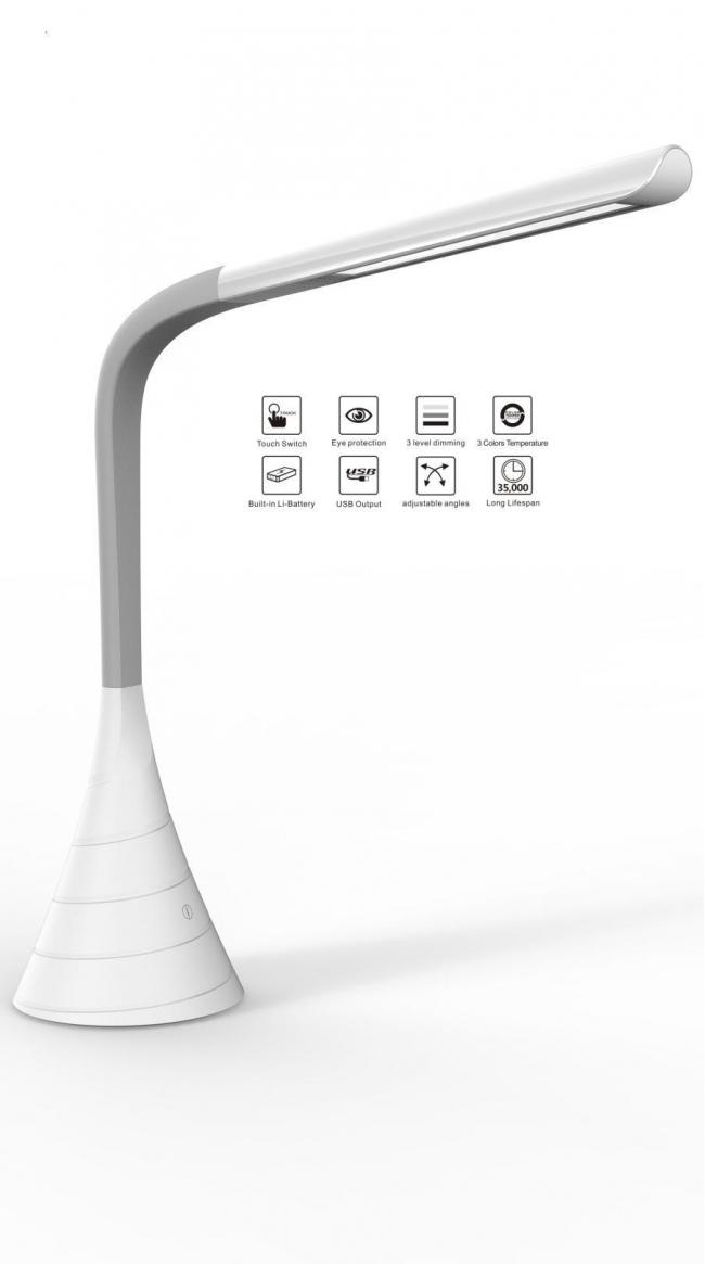 Innovative LED Desk Lamp