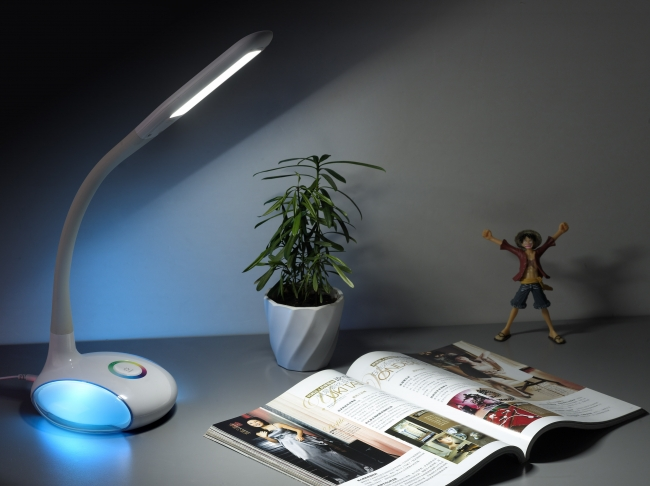 New LED Table Lamp with Colorful Light