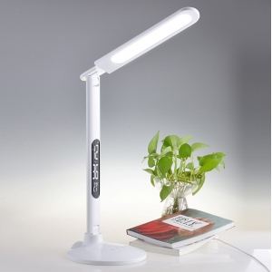 Dimmable and fashion design LED table lamp for reading and working, Unique LED desk lamp, LED desk lamp eye protection with dimmer control