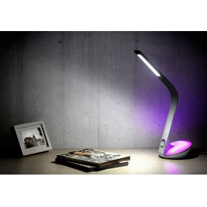 Flexible LED Table Lamp, LED Table Lamp with Colorful Light, LED Eye-protection Desk Light, Decorative LED Desk Light