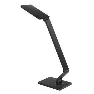 Foldable LED Desk Lamp with brushed metal housing effect, Touch-Sensitive LED Desk Lamp,Multi Color Temperature LED Desk Lamp, Dimmable LED Desk Lamp, Adjustable LED Desk Light