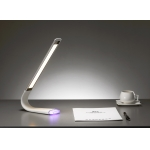 Flexible touch dimmer table lamp, LED table lamp with RGB light,