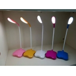 Flexible LED table lamp, LED desk lamp rechargeable