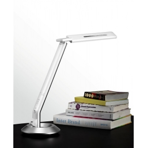 LED desk lamps reading lamps,Digital clocks,Touch-Sensitive dimmable table lamp,base with rotation freely