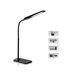 LED dimmable USB desk lamp