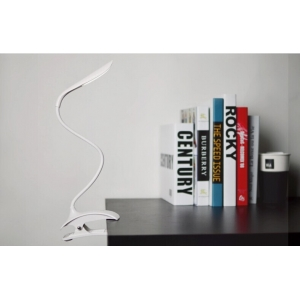 Flexible Clip LED Lamp, rechargeable LED laptop lamp
