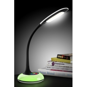 Gooseneck dimmable LED desk lamp, Flexible arm LED reading lamp, Decorative LED table lamp
