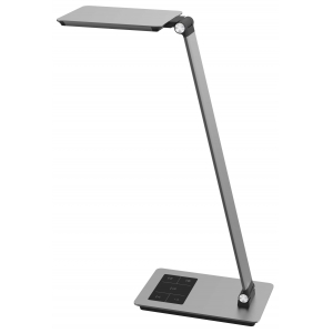 New 12W Aluminum LED Desk Lamp, LED Engery-Efficient Ultra-Slim Desk Lamp with Adjustable Arms, Metal LED Desk Lamp, USB Charging Port LED Desk Light, Touch Sensitive Control LED Metal Lamp