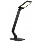 Foldable LED Desk Lamp with brushed metal housing effect, Touch-Sensitive LED Desk Lamp,Multi Color Temperature LED Desk Lamp, Dimmable LED Desk Lamp, Adjustable LED Desk Light