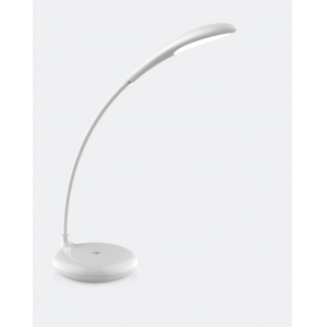 Rechargeable flexible neck LED reading light