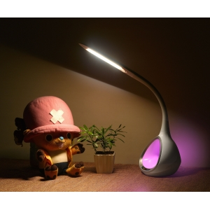 DC12V Flexible LED Table Lamp, LED Table Light with Colorful Light, Touch Dimmer LED Table Light, Decorative LED Desk Light