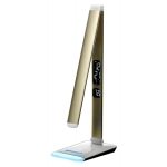 LED Reading Table Lamp, Aluminum LED Study Lamp, Colorful LED Reading Lamp, LED Table Lamp with Clock
