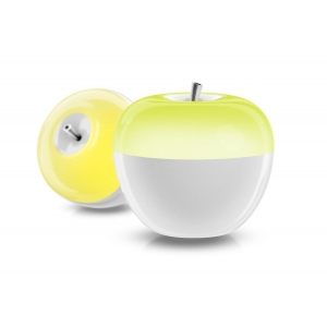 Portable apple night light, dimmable LED light, battery powered LED table lamp