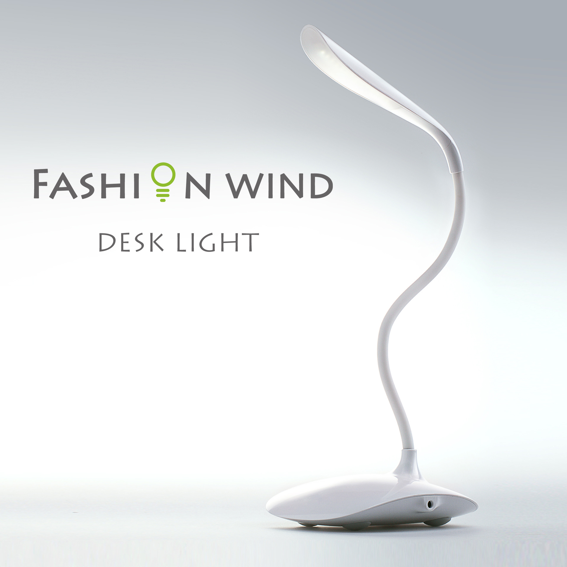 Fashion Wind Desk Lamp Flexible Led Table Rechargeable Night Light