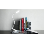 Flexible Clip LED Lamp, rechargeable LED laptop lamp