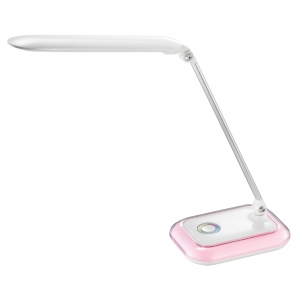 LED table lamp with RGB light, LED touch dimmer table light
