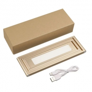 Portable & foldable LED lamp, pure metal LED light, rechargeable LED lamp