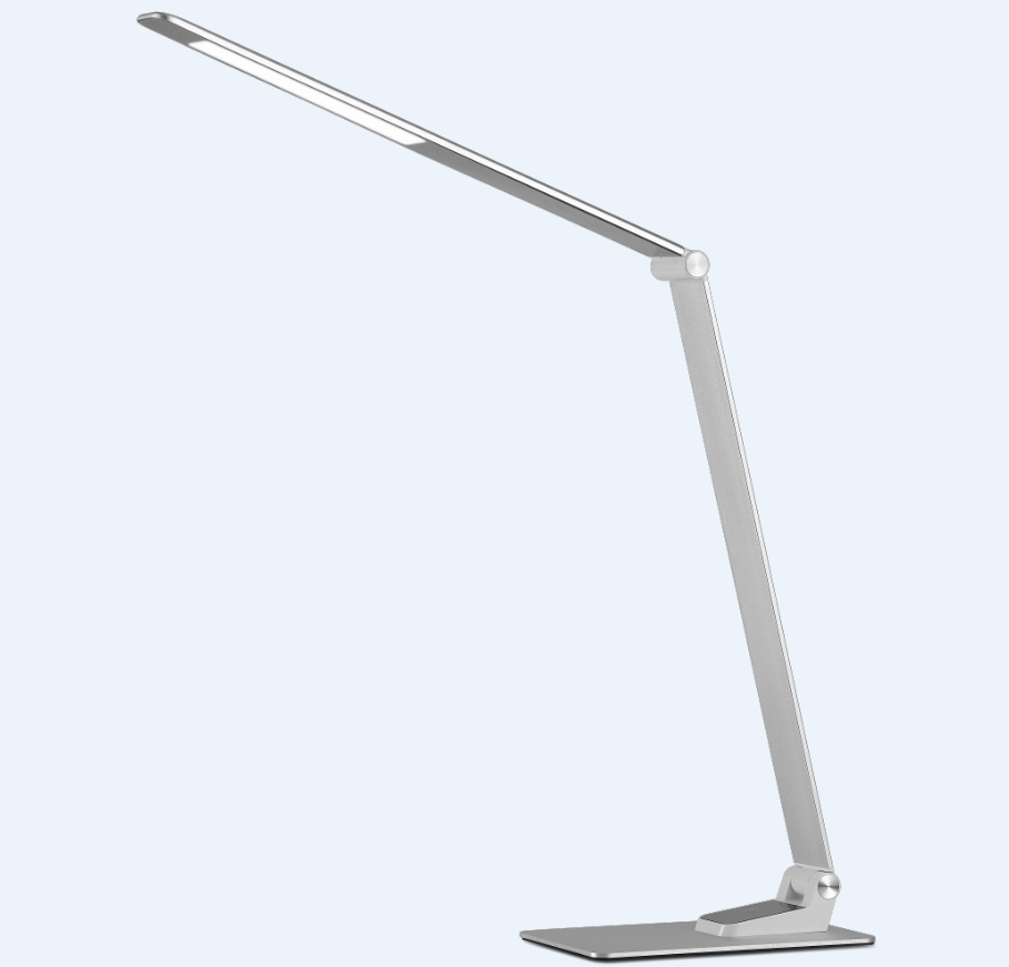 Ultra Thin Aluminum Led Table Lamp 9w New Desk Foldable