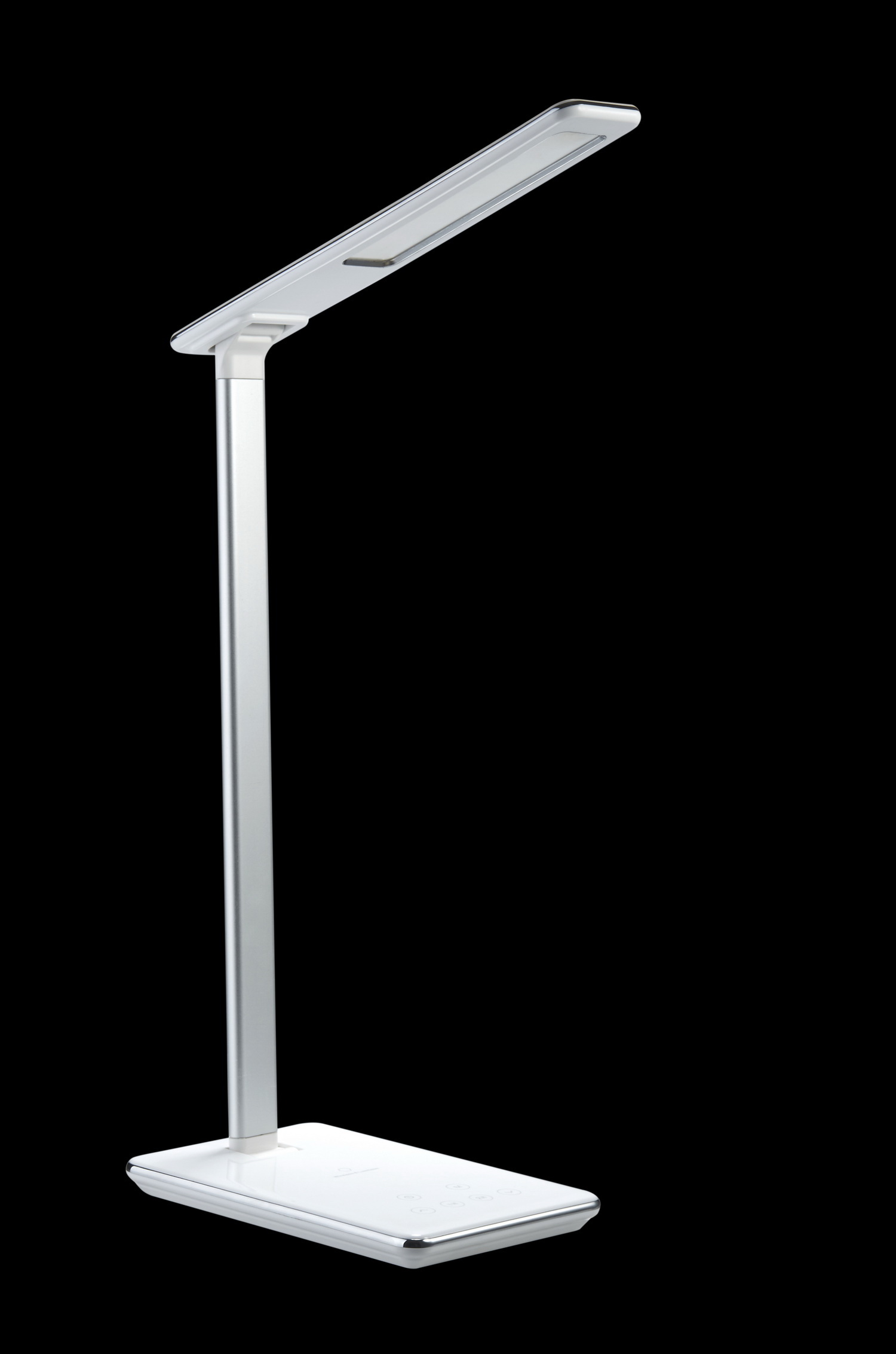 Led Table Lamp With Usb Charging And Qi Wireless Charging