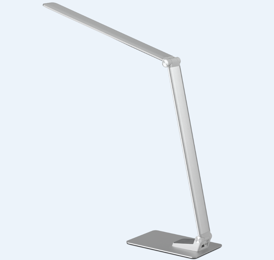Ultra Thin Aluminum Led Table Lamp 9w New Desk Foldable
