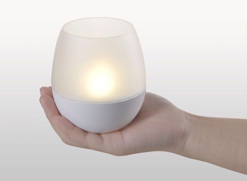 Blow Controlled LED Candle Light, Portable LED Lamp, Rechargeable LED Table  Lamp, Cordless LED Table Light, ...