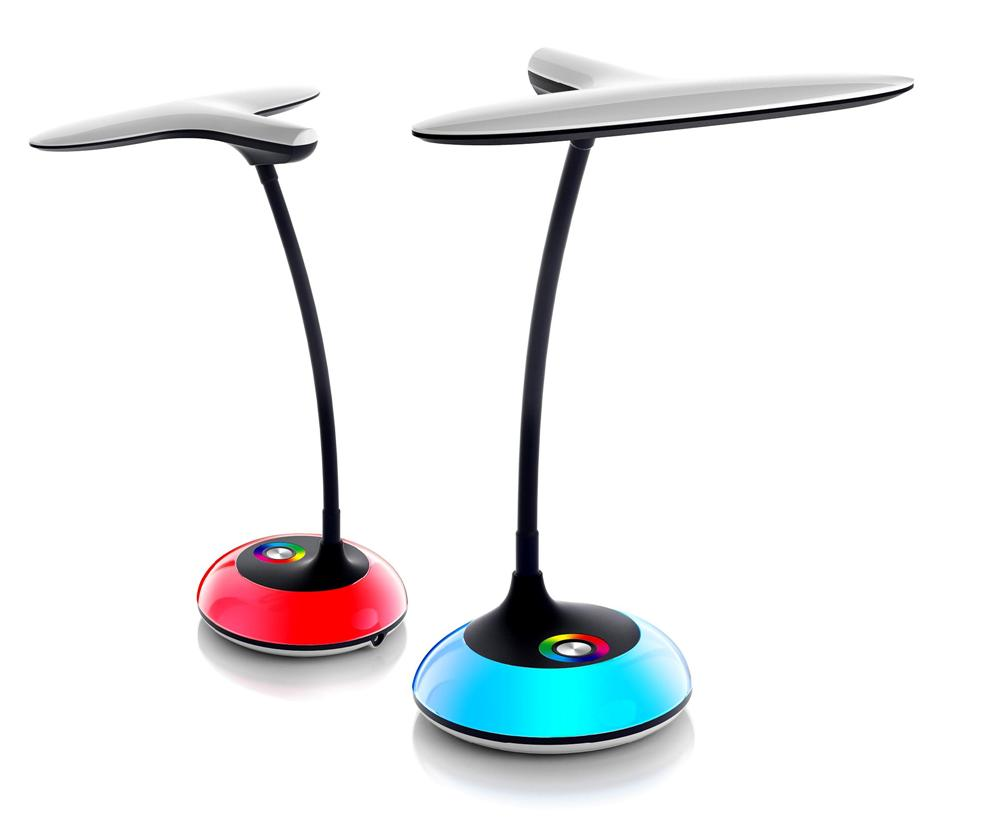 Desk Lamp Touch Switch : Modern led desk lamp fashion table dimmable touch