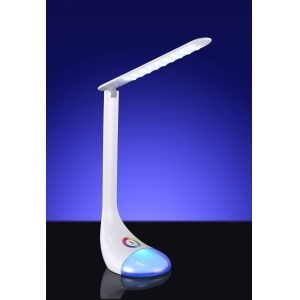 LED Table lamp with colorful night light, LED desk lamp with RGB Night Light