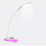Flexible LED table lamp with 256C living colors